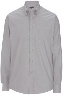 1975 Mens Long Sleeve Pinpoint Oxford Shirt-Edwards