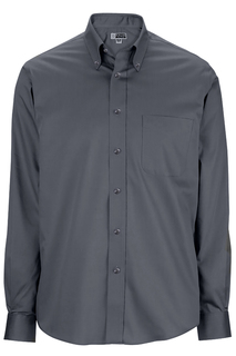 Edwards Mens Oxford Wrinkle-Free Dress Shirt-