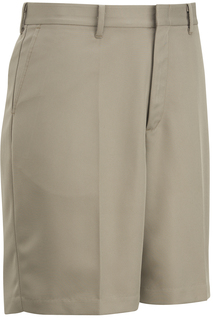 Edwards Pants, Skirts, & Shorts for Hospitality Mens Microfiber Flat Front Short-Edwards