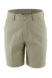 Edwards Mens Blended Flat Front Chino Short-Edwards