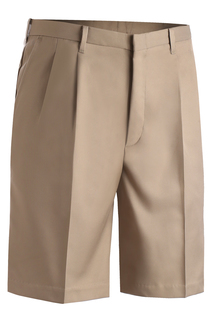 Edwards Mens Microfiber Pleated Front Short-Edwards