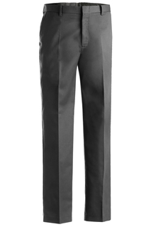 Edwards Mens Business Casual Flat Front Chino Pant-Edwards
