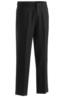 Edwards Mens Synergy Washable Traditional Fit Flat Front Pant-Edwards