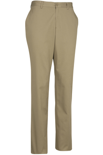 Edwards Mens Flat Front Slim Chino Pant-