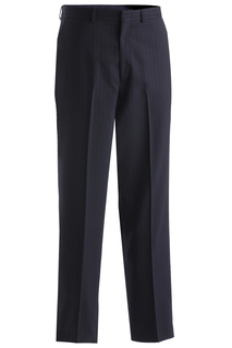 Edwards Mens Pinstripe Flat Front Pant-Edwards