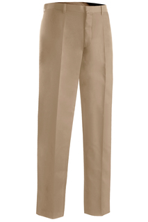 2574 Edwards Mens Microfiber Flat Front Pant-Edwards