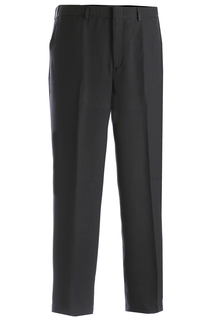 Edwards Mens Intaglio Flat Front Easy Fit Pant-Edwards
