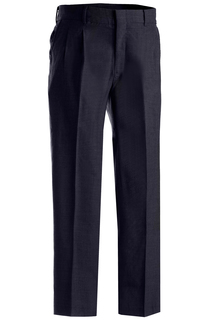 Edwards Mens Washable Wool Blend Pleated Pant