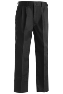 Edwards Mens All Cotton Pleated Pant-Edwards