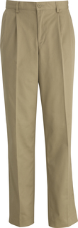 Edwards Mens Utility Chino Pleated Pant-
