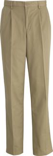 Edwards Mens Ultimate Khaki Pleated Pant-Edwards