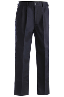 Edwards Mens Blended Chino Pleated Pant