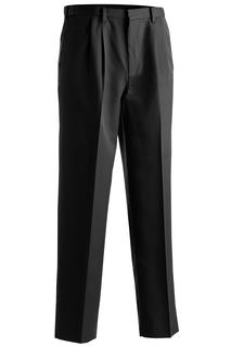 2674 Edwards Mens Microfiber Pleated Pant-