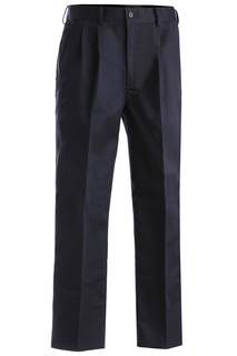 Edwards Mens Easy Fit Chino Pleated Front Pant