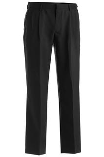 Edwards Mens Polyester Pleated Pant-Edwards