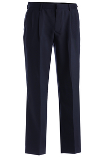 Edwards Mens Polyester Pleated Pant-