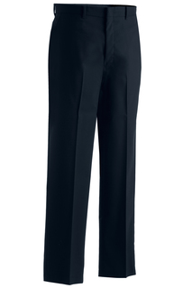 Edwards Mens Washable Wool Blend Flat Front Pant