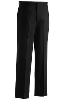Edwards Mens Washable Wool Blend Flat Front Pant-Edwards