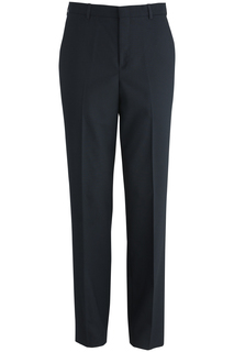 Edwards Mens Flat Front Poly/Wool Pant-Edwards