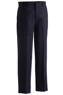 Edwards Mens Wool Blend Flat Front Dress Pant-Edwards