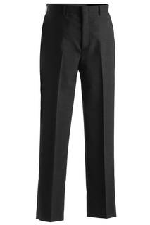 Edwards Mens Wool Blend Flat Front Dress Pant-