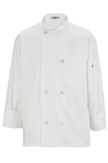 Edwards 8 Button Long Sleeve Chef Coat-Edwards