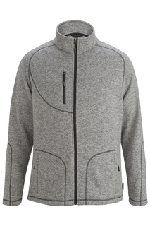 Edwards New Products for Hospitality Mens Sweater Knit Fleece Jacket-Edwards