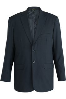 Edwards Mens Single Breasted Poly/Wool Suit Coat-