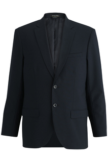 3650 Edwards Mens Single Breasted Poly/Wool Suit Coat-Edwards