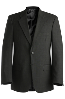 Edwards Mens Wool Blend Suit Coat-Edwards