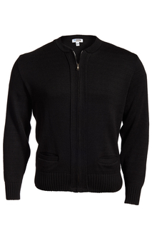 Edwards Full-Zip Heavyweight Acrylic Sweater-Edwards
