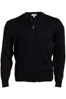 Edwards Full-Zip Acrylic Sweater-
