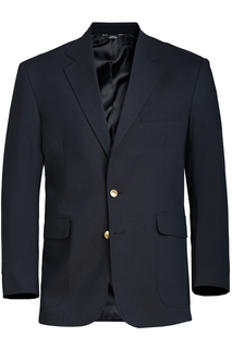 Edwards Mens Hopsack Blazer-Edwards