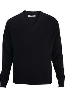 Edwards V Neck Sweater Interlock Acrylic-