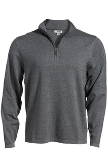 Edwards Quarter Zip Fine Gauge Sweater