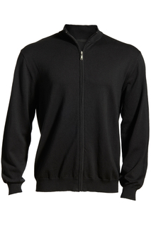 Edwards Full-Zip Fine Gauge Sweater-Edwards