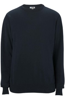 Edwards Crew Neck Cotton Blend Sweater-
