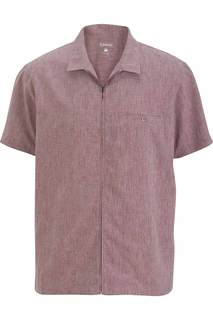 Edwards Mens V-Neck Zip Service Shirt-