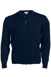 4381 Edwards Unisex Full Zip Cardigan-Edwards