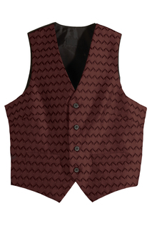 Edwards Mens Swirl Brocade Vest