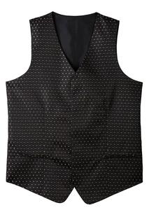 Edwards Mens Diamond & Dots Brocade Vest