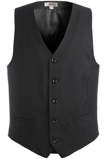 Edwards Mens Synergy Washable High-Button Vest-Edwards