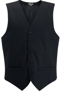 Edwards Mens High-Button Vest-