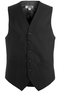 4680 Edwards Mens High-Button Vest-Edwards