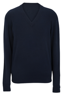 Edwards V-Neck Cotton Sweater-Edwards