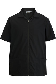 4891 Edwards Mens Zip Front Service Shirt-