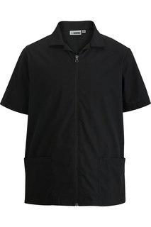 4891 Edwards Mens Zip Front Service Shirt-Edwards