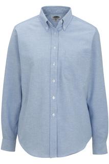 Edwards Ladies Long Sleeve Oxford Shirt