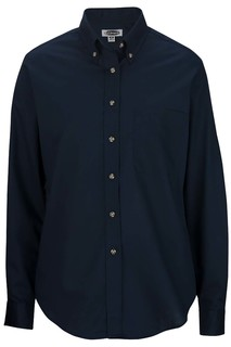 Edwards Ladies Easy Care Long Sleeve Poplin Shirt-Edwards