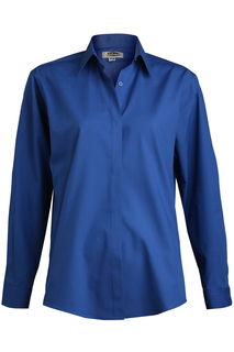 Edwards Ladies Cafe Shirt-Long Sleeve-Edwards